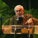 Amiri Baraka at the International Pavilions at Miami Book Fair International: November 10, 2007. (Photo courtesy of Miami Dade College)