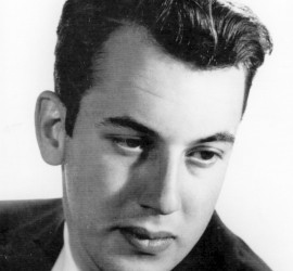 Caption for Grossman portrait: Allen Grossman, circa 1953 (NYTimes.com)