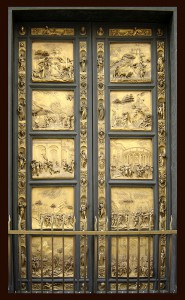 Gates of Paradise by Ghiberti. Photo taken by Ricard André Frantz.