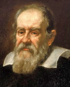Justus Sustermans' portrait of Galileo Galilei (1564-1642)
