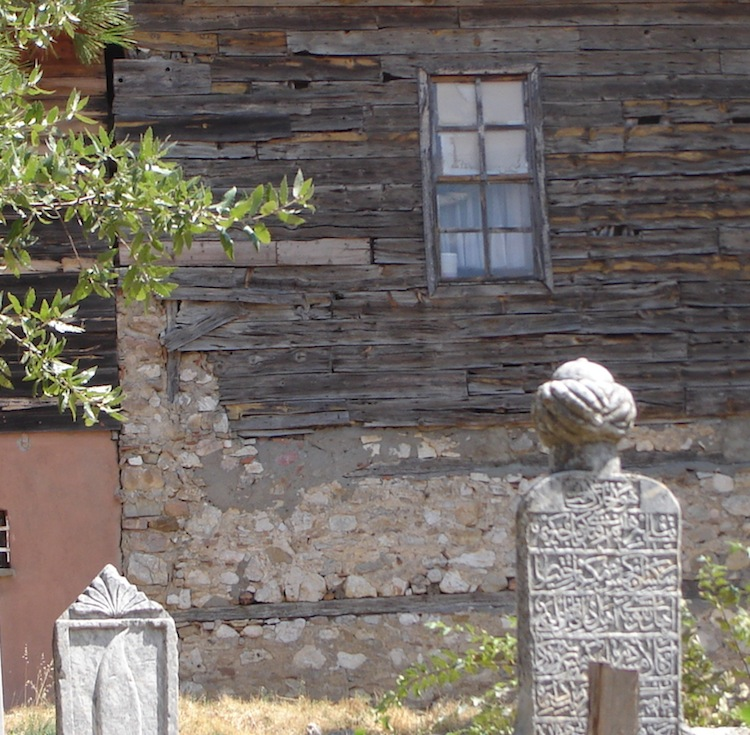 Old Ottoman Tombstone. Eğidir. Photo by Bronwyn Mills.